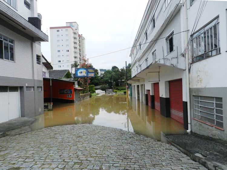 Rua Anápolis (depois da Rua Paraíba) - Foto: Soni Robinson Witte