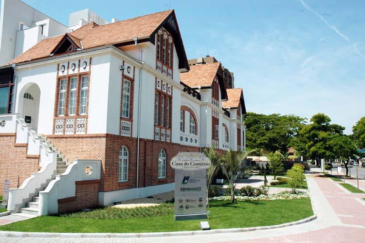 Casa do Comércio, sede do CDL de Blumenau