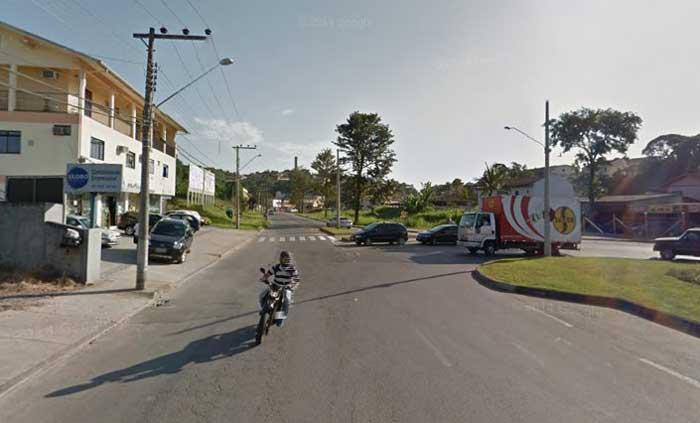 Local aproximado, através do Google Maps