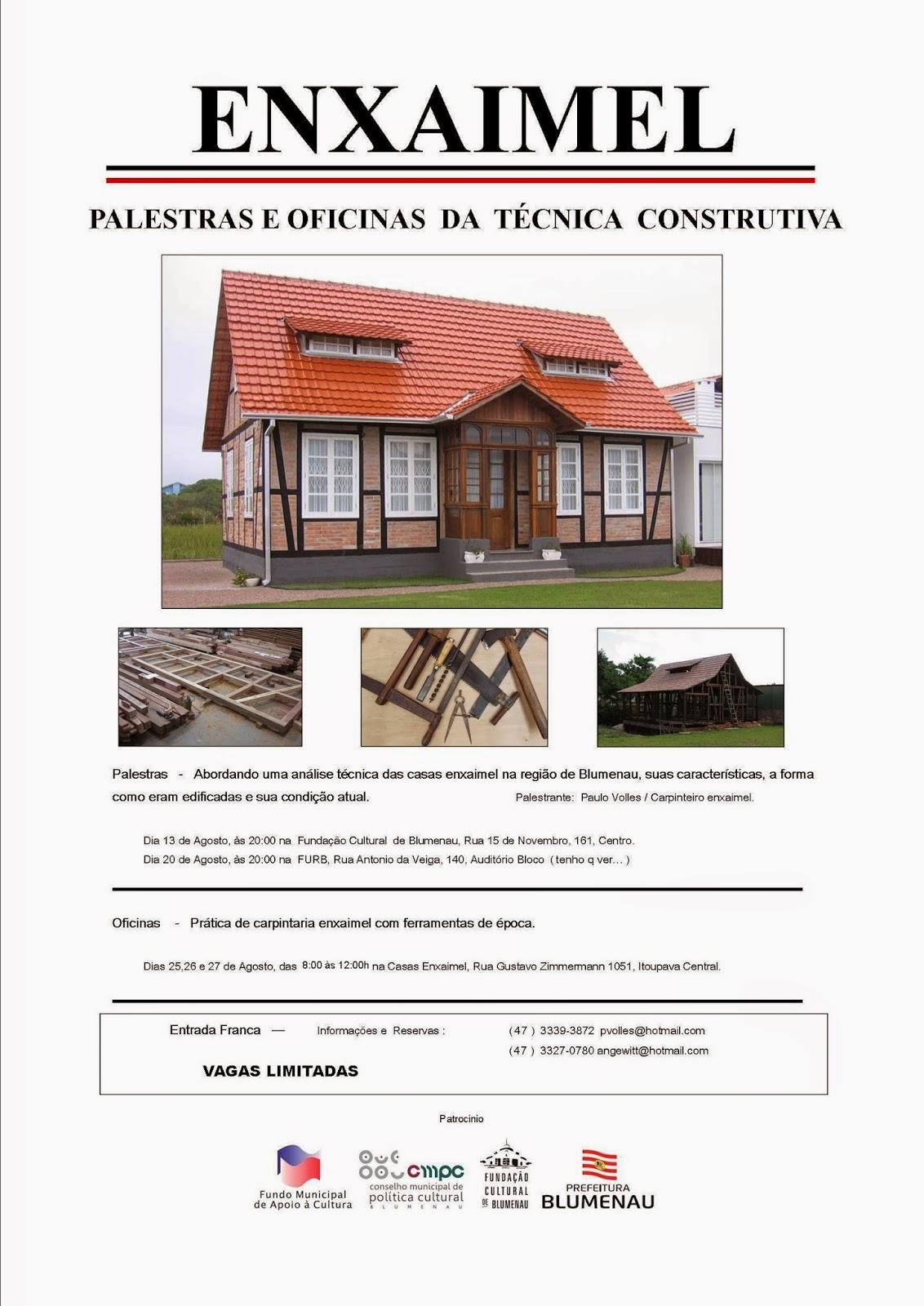 cartaz-Palestras-Tecnica-Construtiva_Enxaimel