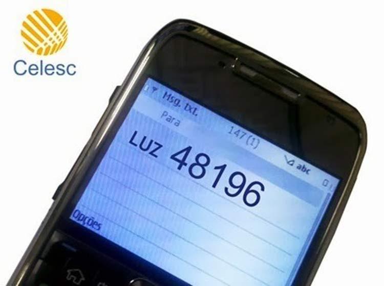 Celesc-SMS