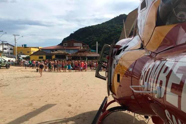 Foto: Corpo de Bombeiros | Helicóptero Arcanjo