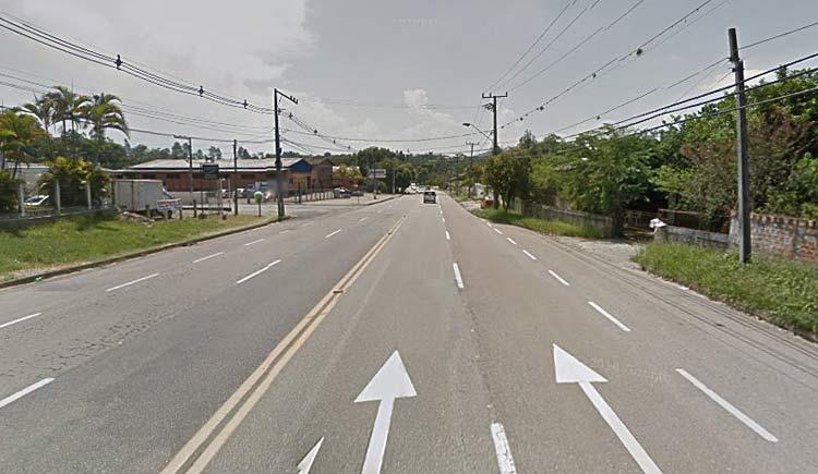 Localização aproximada do acidente   Google Maps   Próximo à Gráfica 3 de Maio