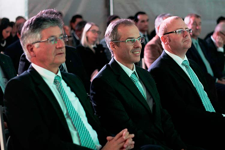 Dietmar Bolkart, Giuliano Albiero, Dimitrios Makrakis | Foto: Ricardo Silva