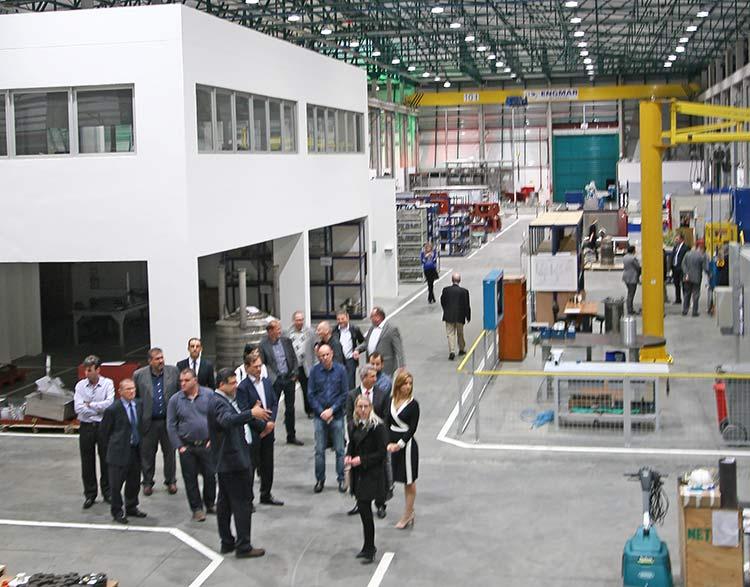 Evento de inauguração da nova unidade da Netzsch Equipamentos de Moagem em Pomerode | Foto: Ricardo Silva