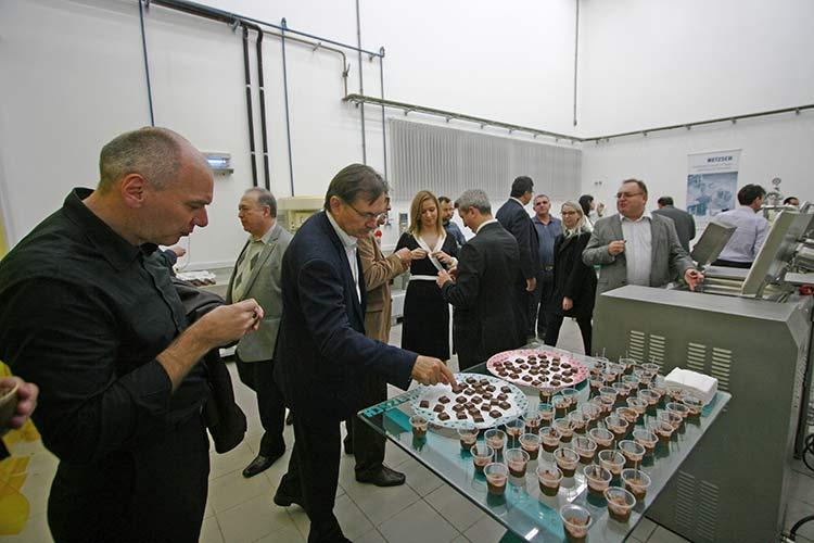 Evento de inauguração Evento de inauguração da nova unidade da Netzsch Equipamentos de Moagem em Pomerode | Foto: Ricardo Silva