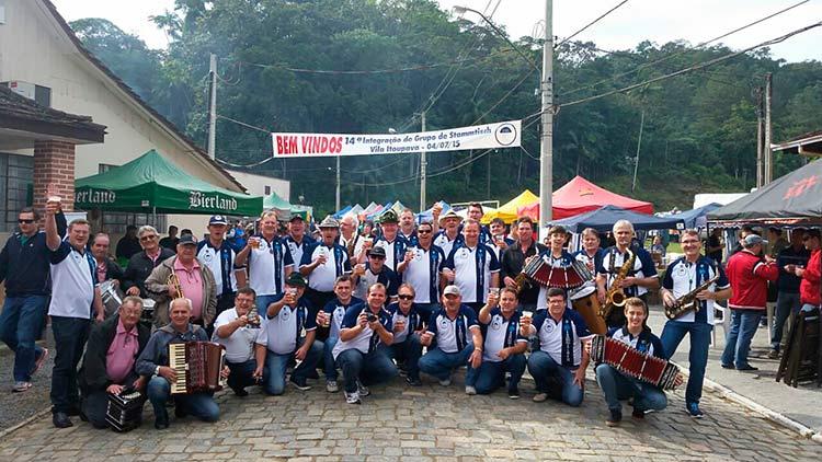 Grupo de Stammtisch Amigos da Itoupava   Idealizadores e coordenadores do evento.