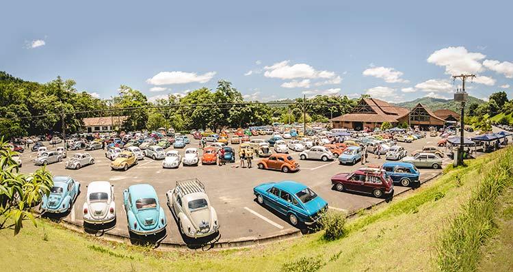 Neste ano, a previsão é de que cerca de 1800 carros participem  Foto: Gerson Douglas Ampessan