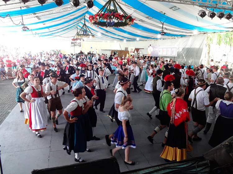 Dança de integração