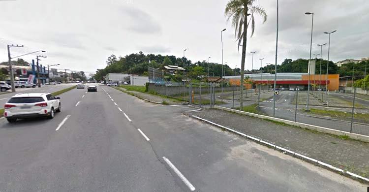 Rua Dois de Setembro  Imagem: Google Maps (Street View) Setembro 2015