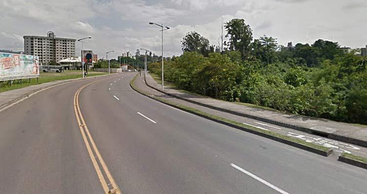 Rua Heinrich Hosang, Bairro Victor Konder | Imagem: Google Maps (Street View) Abril 2012