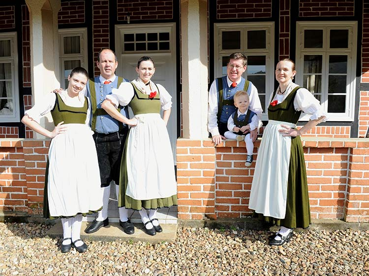 Grupo Folclórico Alemão Eintracht | Foto: Maristela Fritzke