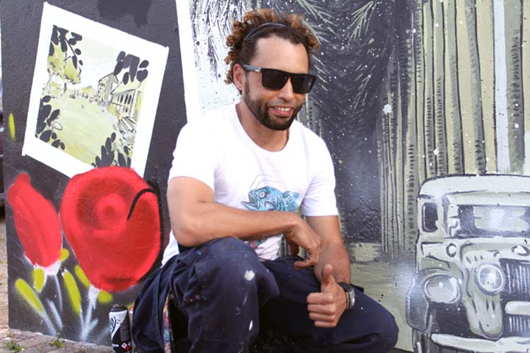 Grafiteiro Alexandre Chamba