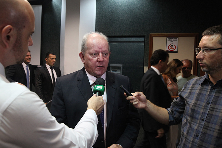 Presidente estadual do PSDB, deputado estadual Marcos Vieira