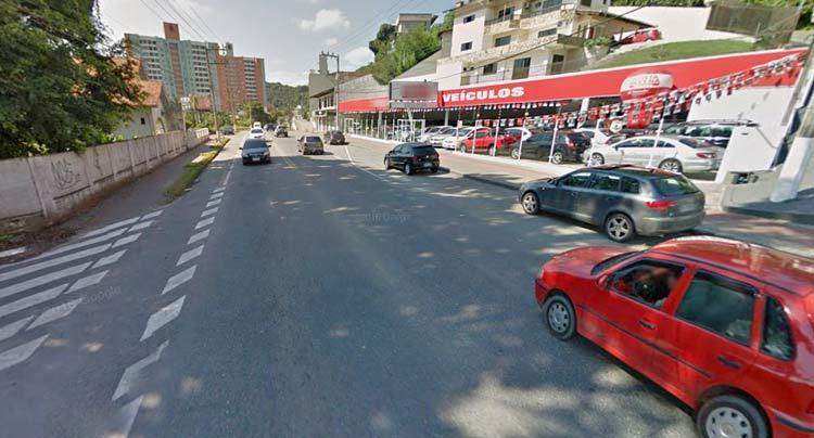 Rua Amazonas, bairro Garcia | Imagem: Googel Maps (Street View) Abril 2016