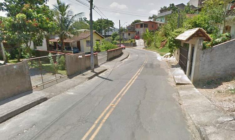 Rua Fritz Muller, altura do nº 750 | Imagem: Google Maps (Street View) Jan 2014