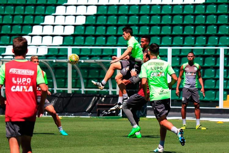 Imagem do treino de sexta-feira - Foto: Luiz Henrique