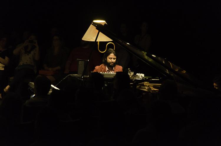 Tiago Tavares tocou nos teclados