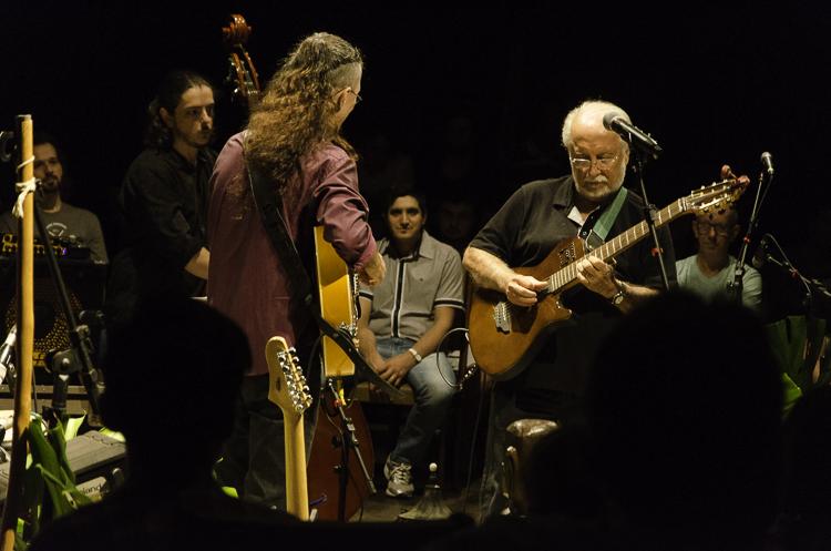 Mazin Silva e Roberto Menescal