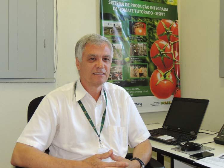 Engenheiro agrônomo Walter Ferreira Becker | Foto: Murilo Rosso/ ADR Caçador