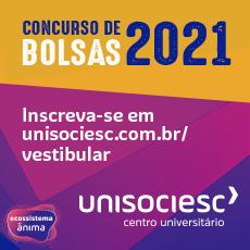 An Unisociesc Concurso de Bolsas 2021 | 230 px